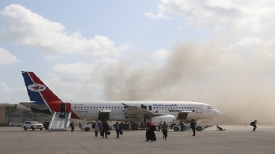 UPDATE 5: Yemeni officials: Blast at Aden airport kills 22, wounds 50