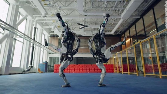 Watch Boston Dynamics robots dance to Do you love me