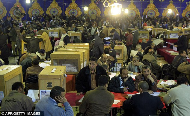 Egypt: Top elections official resigns