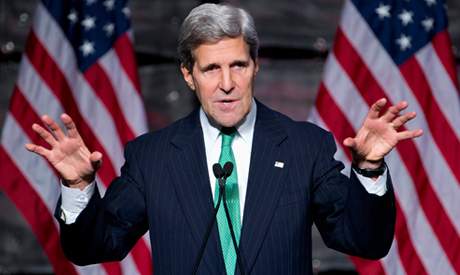 John Kerry makes first official visit to Egypt since 30 June uprising