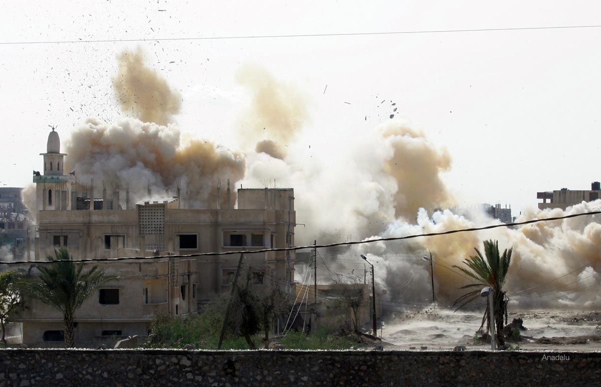 Egyptian security forces continue their violations in Rafah