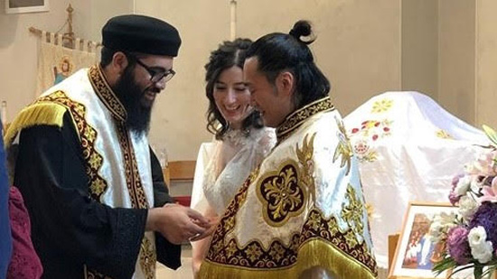 The Coptic Orthodox Church in Japan celebrates the very first Marriage ceremony