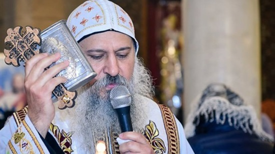 Bishop of Damietta holds annual memorial service for Archbishop Bishoy