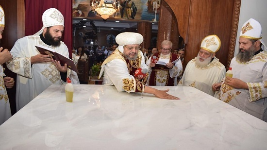 Bishop Markos inaugurates the Church of the Virgin and St. Mark in Shubra al-Khaimah