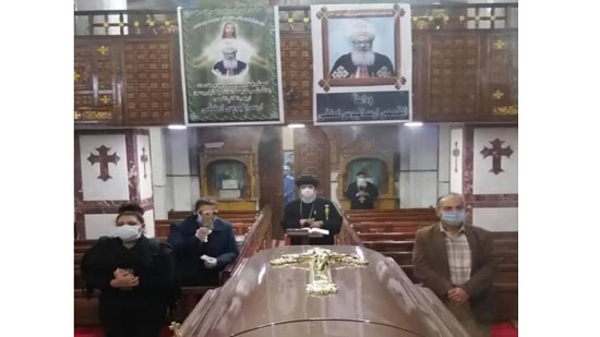 Service suspended after the death of a priest in Zagazig due to COVID-19