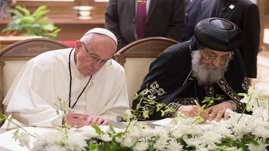 Pope Tawadros denies rumors about agreement on the unity of the baptism with the Vatican