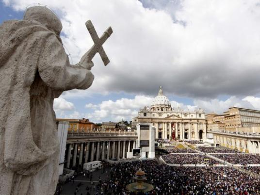Pope marks Easter with call for Syria violence end